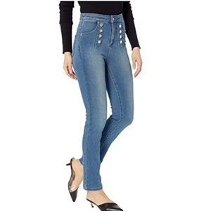 1. State high rise skinny jeans